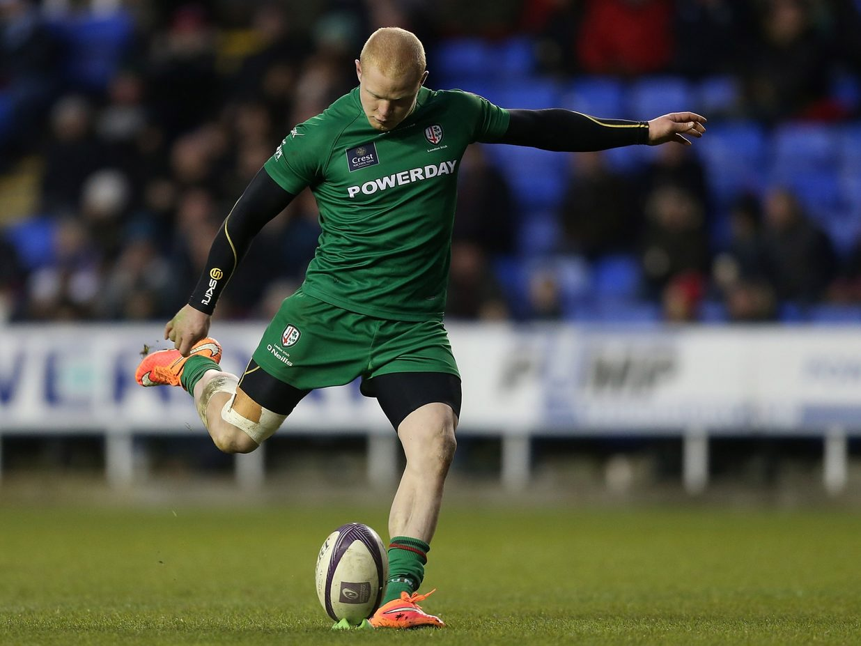 London Irish confirm Tom Homer departure at the end of the season ...