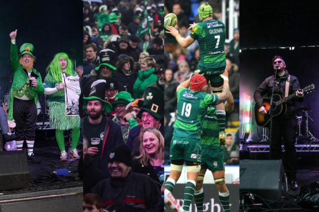 9d203f9e67c The famous London Irish St Patrick's Party game is back for its 18th year  when Doncaster Knights make the trip to the Madejski Stadium on Saturday 23  March ...