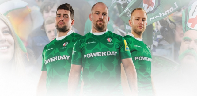 5f4bb91f7ff The 2016 St Patrick's Day jersey has been unveiled live on BT Sport's Rugby  Tonight.