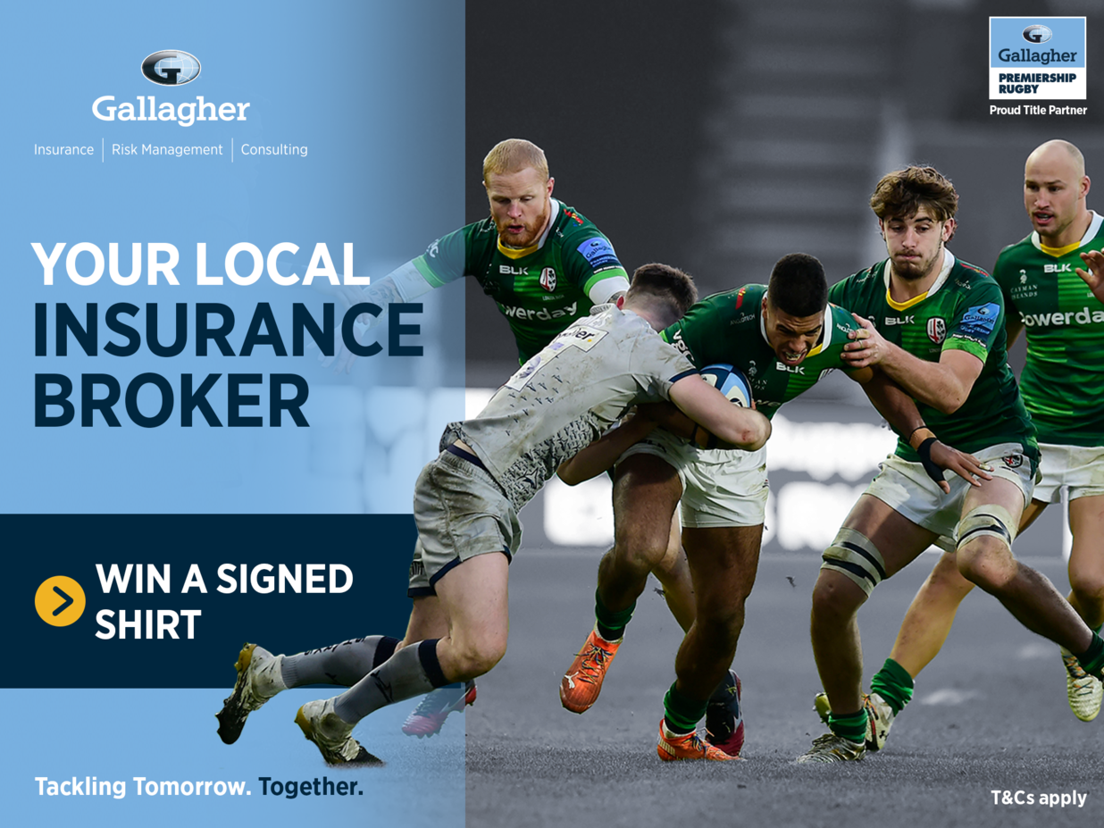 Win a signed shirt in celebration of Tackling Tomorrow ...